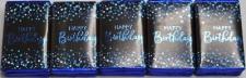 CHOCOLATE HAPPY BIRTHDAY BLUE 15s
